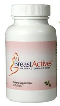 Breast Actives pills - one month supply
