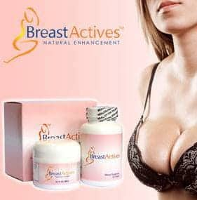 Breast Actives Program of pills plus cream plus exercises